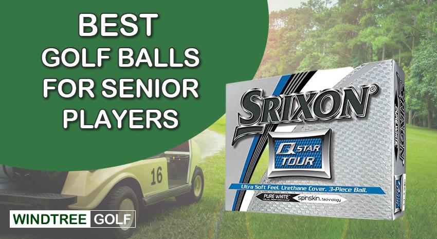 best golf balls senior players