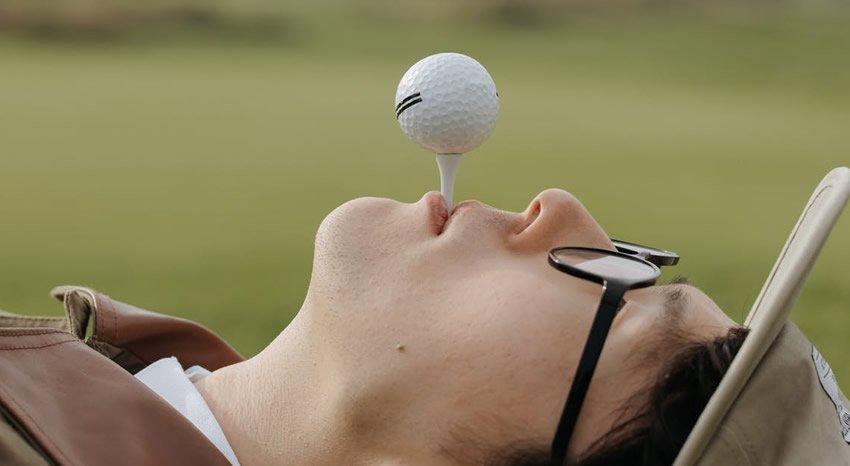 Funny Golf Sayings on Balls