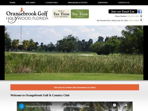Orangebrook Golf Country Club FL