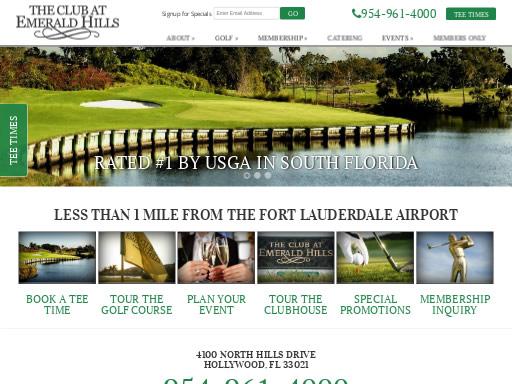 The Club at Emerald Hills Golf Club FL