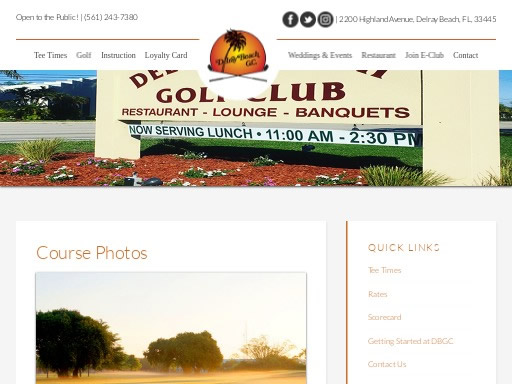 delray beach golf club FL