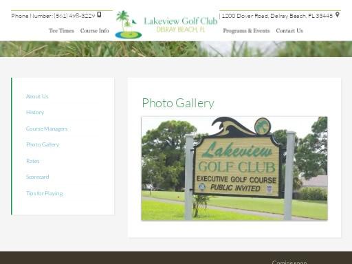 lakeview golf club FL