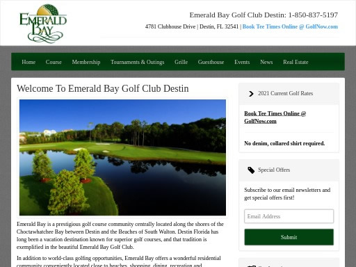 Emerald Bay Golf Club FL