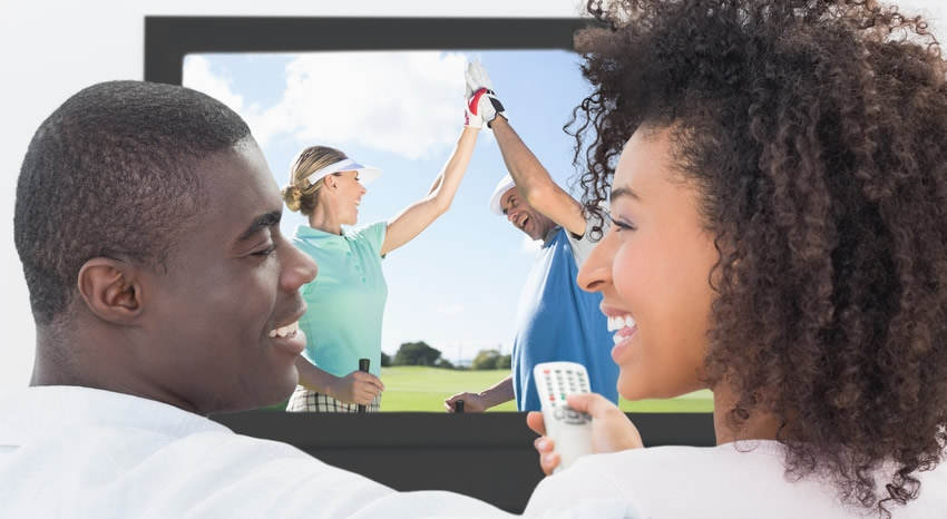 is golf boring to watch on tv