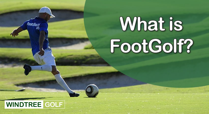 what is foot golf