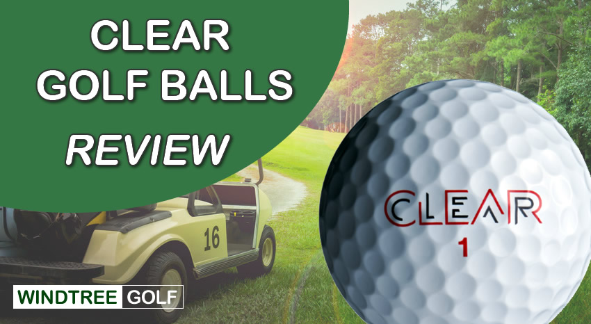 clear golf balls review