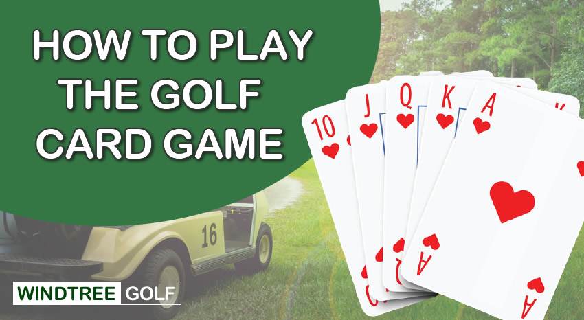 how to play the golf card game