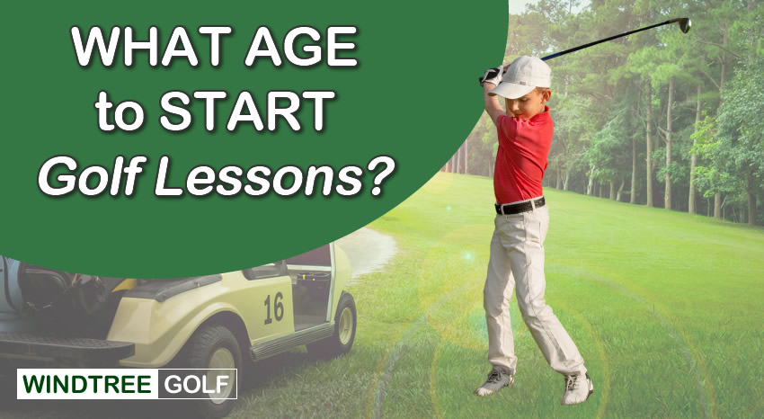 age to start golf lessons