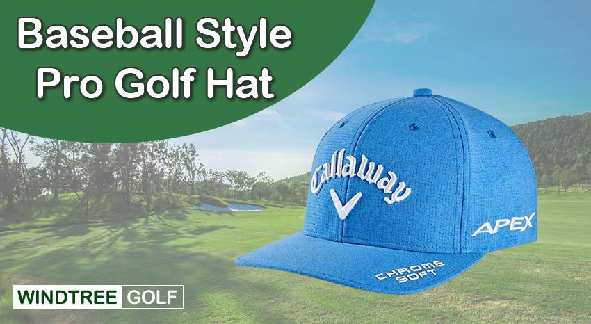 baseball golf pro hat