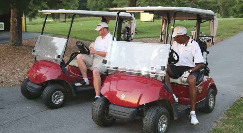 electric golf cart example