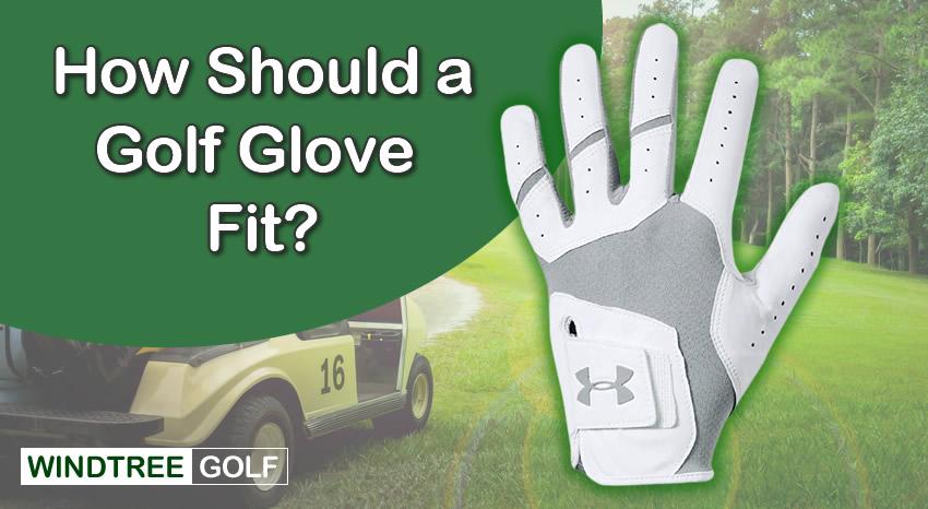 golf glove fit