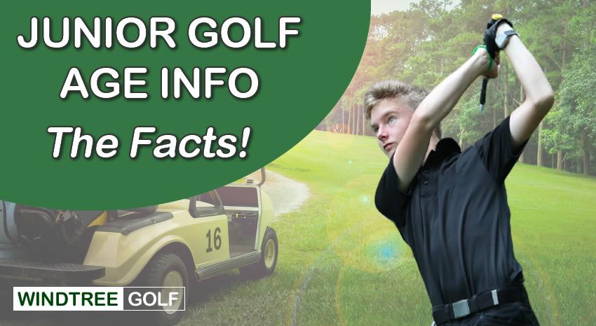 junior golf age