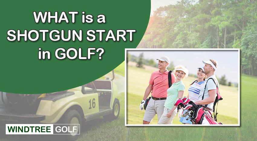 shotgun start in golf