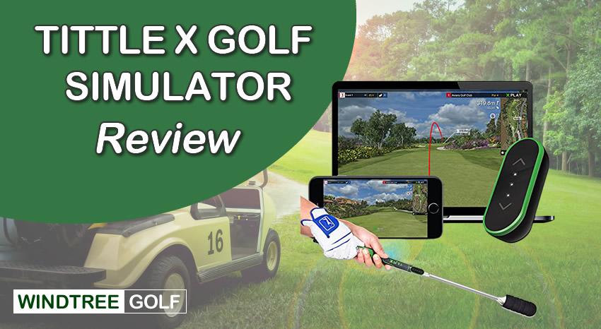 Tittle X Home Golf Simulator