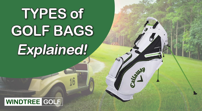 types of golf bags