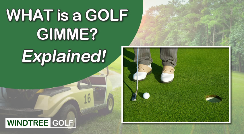 what is a golf gimme