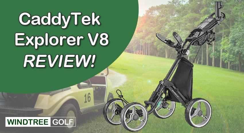 caddytek pushcart review