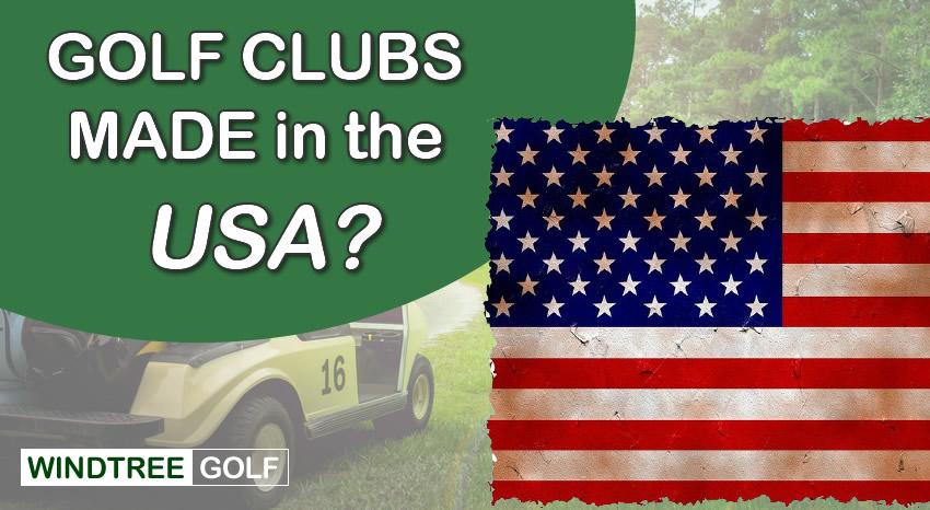 golf clubs made usa